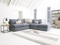 Modular Chatnap corner sofa bed with handy storage