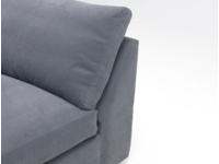 Storage space and sofa bed built in to our Chatnap modular sofa