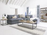 Chants storage single seat storage unit part of space saving modular sofa
