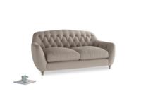 Medium Butterbump Sofa in Driftwood brushed cotton