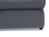 Space saving armless Chatnap modular sofa single seat unit with storage space