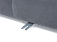 Sectional space saving Chatnap sofa single seat unit with storage space