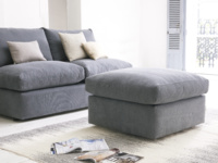 Space saving armless Chatnap modular storage sofa