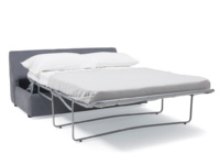 Sectional Chatnap comfy armless double sofa bed