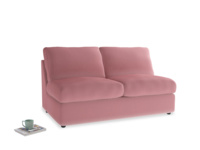 Chatnap Sofa Bed in Dusty Rose clever velvet