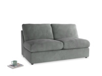 Chatnap Sofa Bed in Old Charcoal brushed cotton
