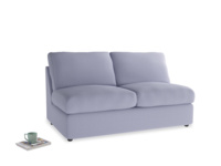 Chatnap Storage Modular Sofa in China Blue Brushed Cotton with no arms