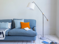 Contemporary Bruges floor lamp
