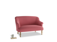Small Sweetie Sofa in Raspberry brushed cotton