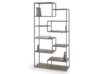 Reclaimed Tickety industrial style shelves