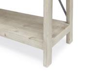 British made Big Mucker reclaimed industrial wooden shelving unit