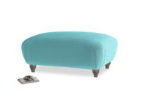 Rectangle Homebody Footstool in Belize clever velvet