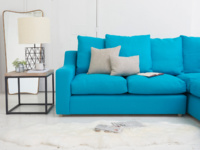 Luxury L shape contemporary Cloud corner sofa