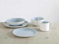 Kilny stoneware white dinner set