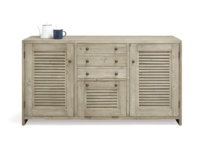 Handamde wooden dining room Grand Sucre sideboard