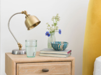 Mini Gaston small brass desk lamp
