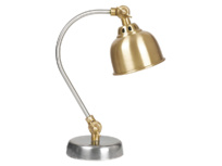 Mini Gaston kids' bedside lamp in brass