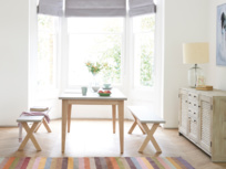 Wipe clean concrete top Conker kitchen table