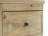 French style Bastille reclaimed bedside table drawer