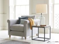 Comfy fabric Weekender armchair