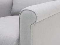 Fabric Weekender snuggle love seat
