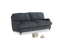 Small Jonesy Sofa in Lava grey clever linen