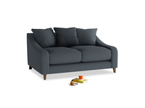 Small Oscar Sofa in Lava grey clever linen