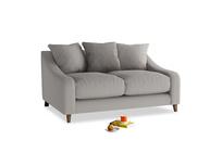 Small Oscar Sofa in Safe grey clever linen