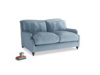 Small Pavlova Sofa in Chalky blue vintage velvet