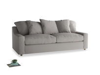 Large Cloud Sofa in Safe grey clever linen