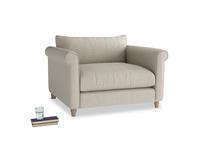 Fabric snuggle Weekender love seat