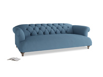 Large Dixie Sofa in Easy blue clever linen