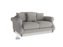 Small Sloucher Sofa in Safe grey clever linen