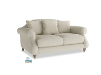 Small Sloucher Sofa in Pale rope clever linen