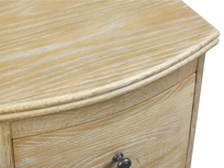 Weathered oak Bastille side table