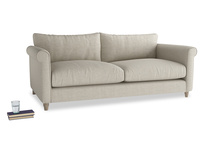 Feather filled high armed Weekender sofa