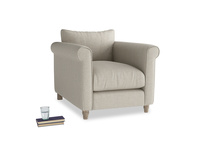 Fabric comfy Weekender armchair