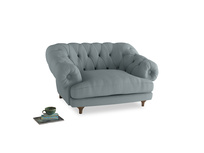 Bagsie Love Seat in Quail's egg clever linen