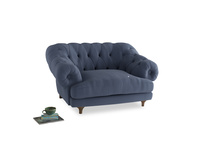 Bagsie Love Seat in Breton blue clever cotton