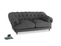 Medium Bagsie Sofa in Strong grey clever woolly fabric