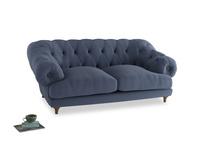 Medium Bagsie Sofa in Breton blue clever cotton