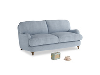 Small Jonesy Sofa in Frost clever woolly fabric