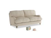 Small Jonesy Sofa in Flagstone clever woolly fabric
