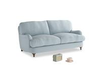 Small Jonesy Sofa in Scandi blue clever cotton