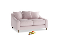 Small Oscar Sofa in Dusky blossom washed cotton linen