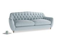 Large Butterbump Sofa in Scandi blue clever cotton