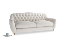 Large Butterbump Sofa in Chalk clever cotton
