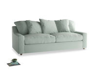 Large Cloud Sofa in Sea surf clever cotton