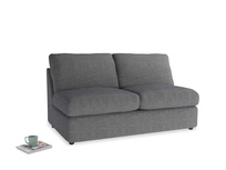 Chatnap Sofa Bed in Strong grey clever woolly fabric