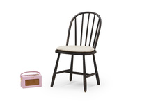 Chortler farmhouse wooden kitchen chairs